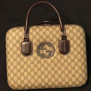 Rare Gucci Business/Laptop Briefcase